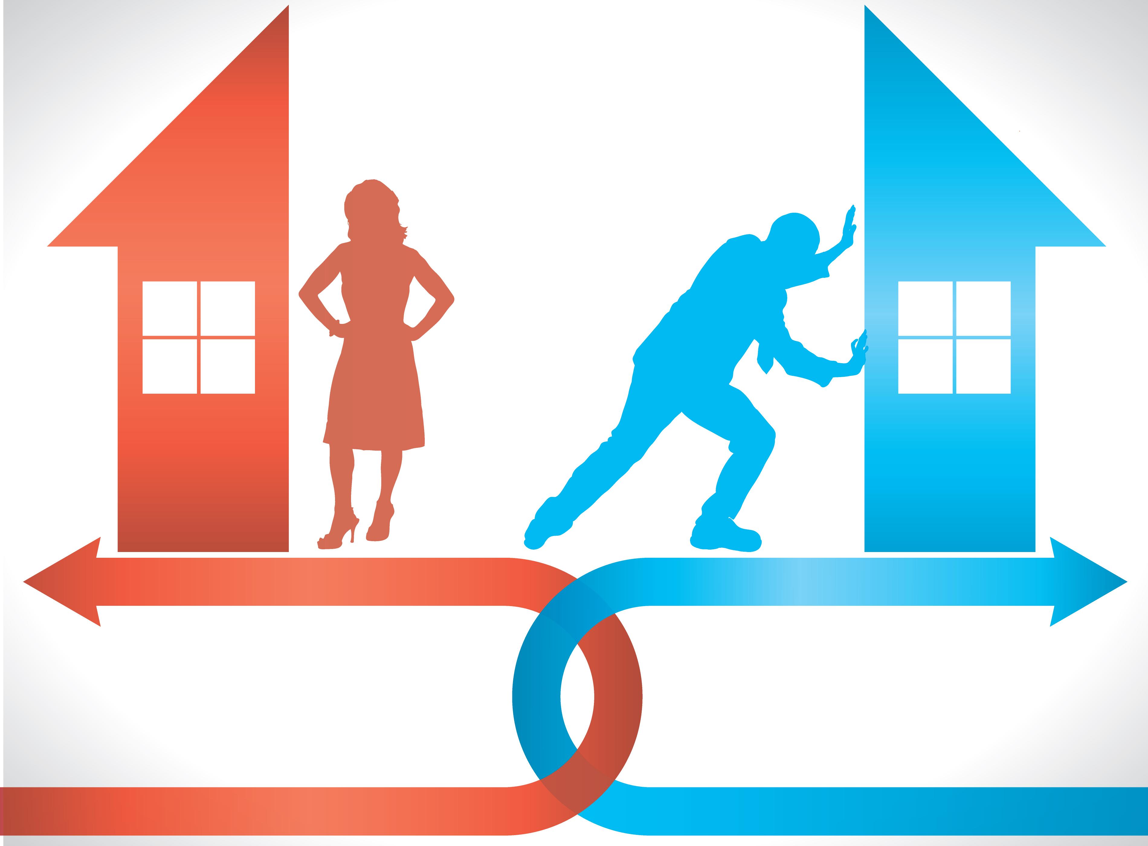 ипотека после развода
